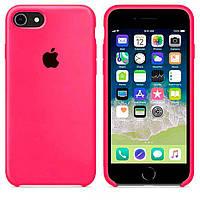 Чехол Apple Silicone Case Apple iPhone 7 Plus, iPhone 8 Plus Ярко - Малиновый