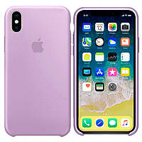 Чехол Apple Silicone Case Apple iPhone X, iPhone XS Сиреневый