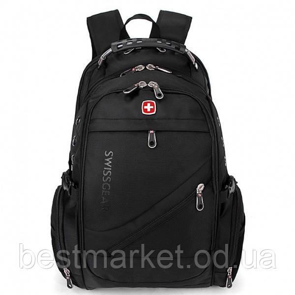 Рюкзак Міський SwissGear 8810 Чорний Маленький