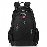 Рюкзак Міський SwissGear 8810 Чорний Маленький, фото 1