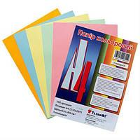 Бумага цветная А4 ассорти 100 листов
