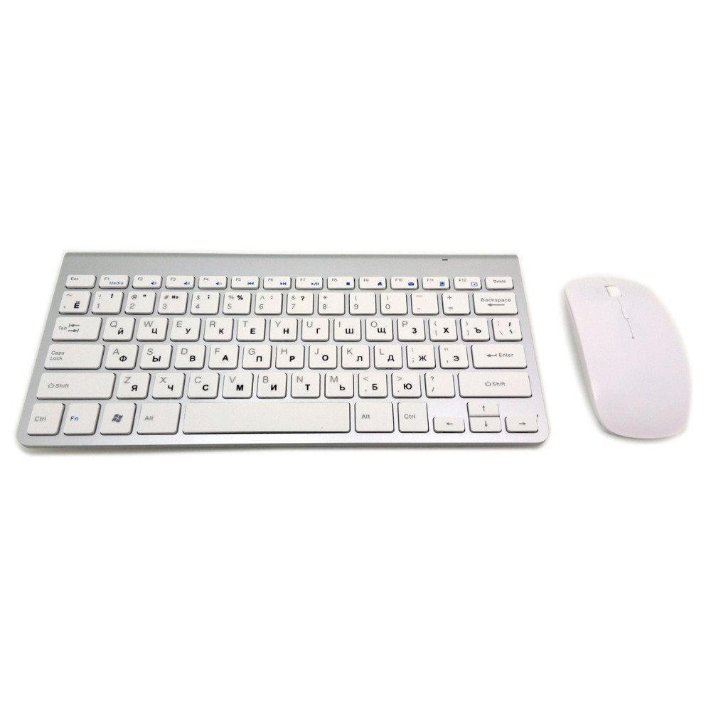 Клавіатура KEYBOARD + Мишка wireless 901 Apple