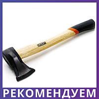 Колун с деревянной рукояткой (1000 гр.) | СИЛА 320302