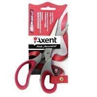 Ножницы Duoton Soft, 16,5 см, серо-красные 6101-06-А