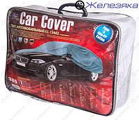 Чехол автомобильный (Тент) VITOL с подкладкой PEVA+Non PP Cotton (размер M)