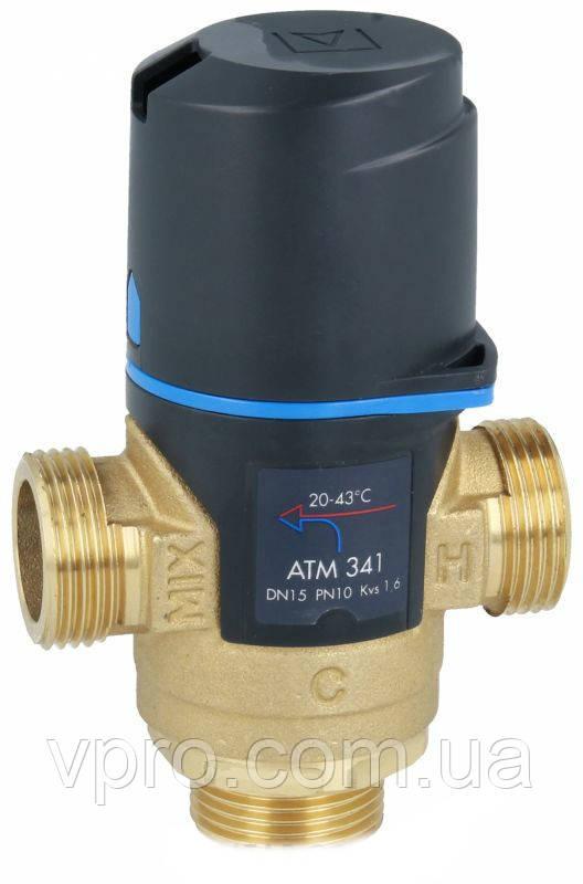 """Afriso ATM 341 G3/4"""" 20-43°С 3-ходовой термосмесительный клапан"""