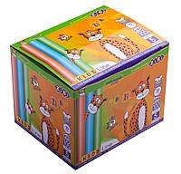 Крейда кольорова 100шт., картонна коробка /96/