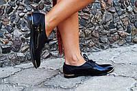 Туфли женские кожаные или эко кожа. Подошва: черная и белая. Разные расцветки. Размеры: 36-42, код 4615О