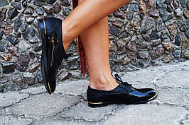 Туфлі жіночі шкіряні або еко шкіра. Підошва: чорна та біла. Різні забарвлення. Розміри: 36-42, код 4615О