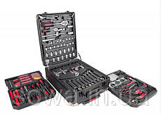 ✔️ Набор ключей LEX 186CC-2  • 186шт • C45 инструментальная сталь и Cr-V (хром-ванадый), фото 2