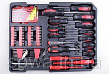 ✔️ Набор ключей LEX 186CC-2  • 186шт • C45 инструментальная сталь и Cr-V (хром-ванадый), фото 3