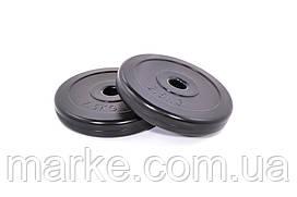 Диски для гантелей ( штанги ) композитные Neo-Sport 2х2,5кг