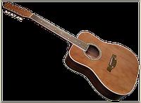 Акустическая гитара трембита L-05 двенадцати струнная. Разные цвета.