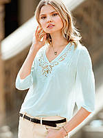 Блуза Victoria's Secret нежно-морская