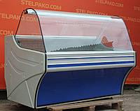 Холодильная витрина среднетемпературная «Cold W-15 SG-W» 1.5 м. (Польша), широкая выкладка 72 см., Б/у, фото 1