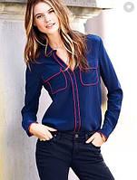 Рубашка Victoria's Secret синяя