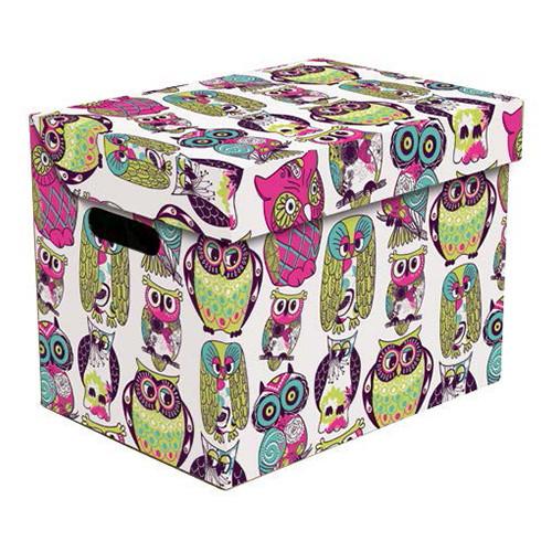 Ящик для хранения картонный ONE, сова