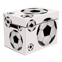 Ящик для хранения картонный ONE, футбол