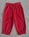 Штани велюрові для дівчинки рожеві р. 74-98 см (Nicol, Польща), фото 2