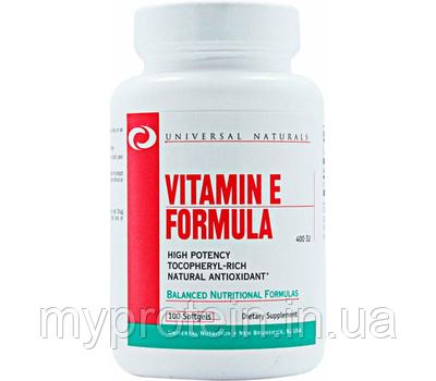 UniversalВитамины Е Vitamin E Formula 400 IU100 softgels