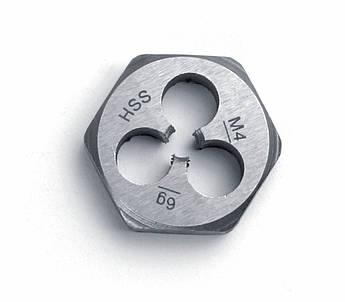 Шестигранна плашка DIN 382 HSS MF 10 x 0,5  GSR Німеччина