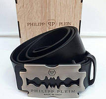 Кожаный ремень Philipp Plein (Филипп Плейн)