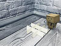 Перегородка для конфет / 120х120х30 мм / 9 ячеек / Маленьк / Молочн, фото 1
