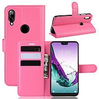 Чехол Luxury для Doogee Y7 книжка розовый