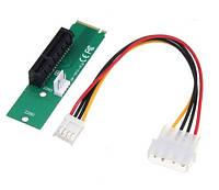 M.2 NGFF на PCI-E 4X райзер переходник LM-141X-V1.0 майнинг (z04082)