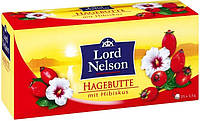 Чай в пакетиках Lord Nelson Hagebutte mit Hibiskus