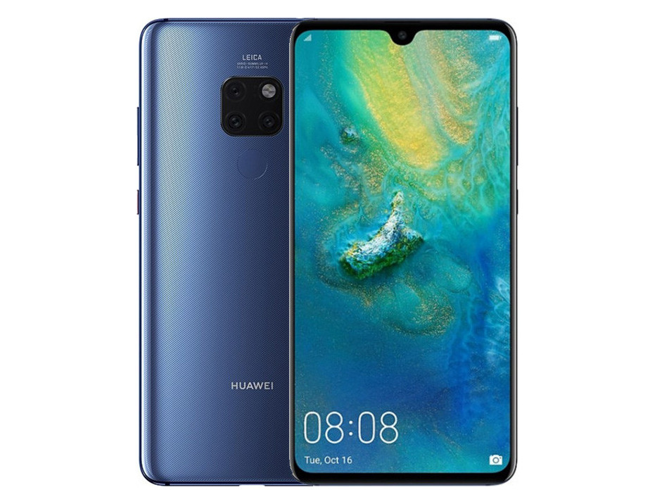 Смартфон Huawei Mate 20 6/128GB DS Midnight Blue
