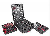 Набор ключей LEX 186CC-2 | 186шт |C45 инструментальная сталь и Cr-V (хром-ванадый)