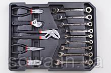 Набір ключів LEX 186CC-2  186шт _ Чемодан инструментов, ключей lex, фото 2