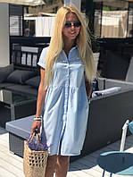 Платье женское летнее жёлтое, голубое, мята, фото 1