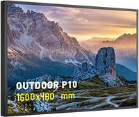 Светодиодная полноцветная бегущая строка P10 RGB 1600*480 мм