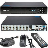 Видеорегистратор HVR NVR DVR TVPSii 6016T-LM AHD-H 1080N 16 каналов (z04983)