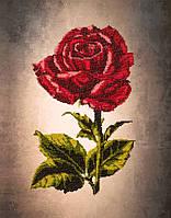 Вышивка бисером картины Волшебная страна Одинокая роза (FLF009) 30 х 40 см