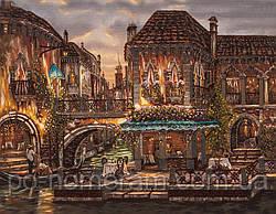 Вышивка бисером Волшебная страна Венеция (FLF043) 35 х 45 см