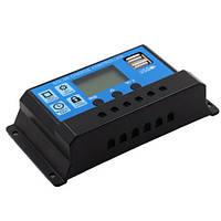 Контроллер заряда солнечной батареи KW1230 ШИМ 12/24В 30А (z04260)