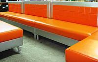 """Диван для кафе """"Клетчатый апельсин"""", фото 1"""