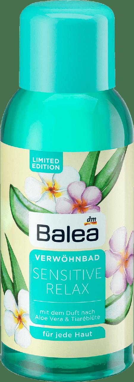 Увлажняющая пена для ванны Balea Sensitive Relax, 500 мл.