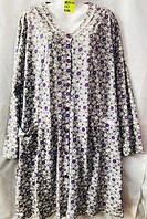 Платье халат батал 56-62 Хлопок (от 5 шт)
