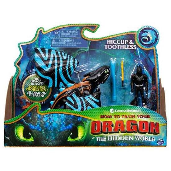 Как приручить дракона 3: набор из дракона Беззубика в боевом раскрасе и всадника Иккинга Spin Master