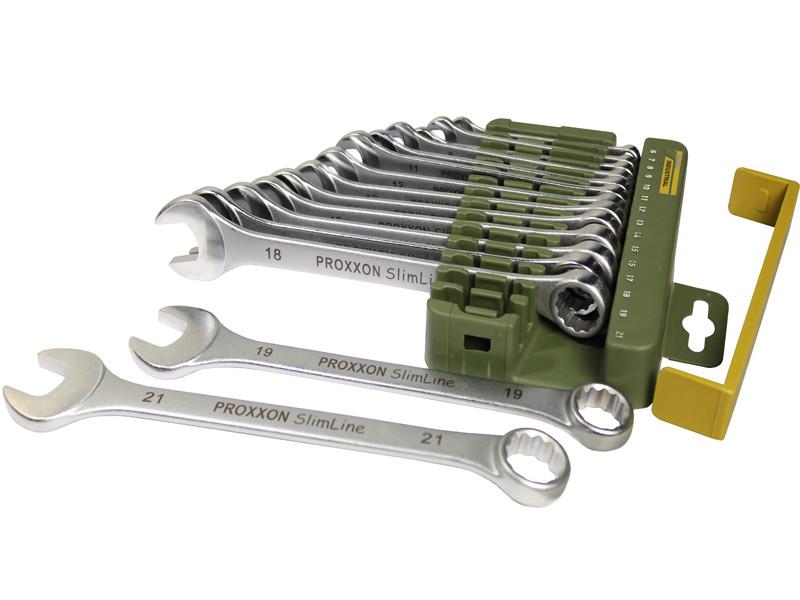 Набор комбинированных гаечных ключей 6-21мм Proxxon 23821