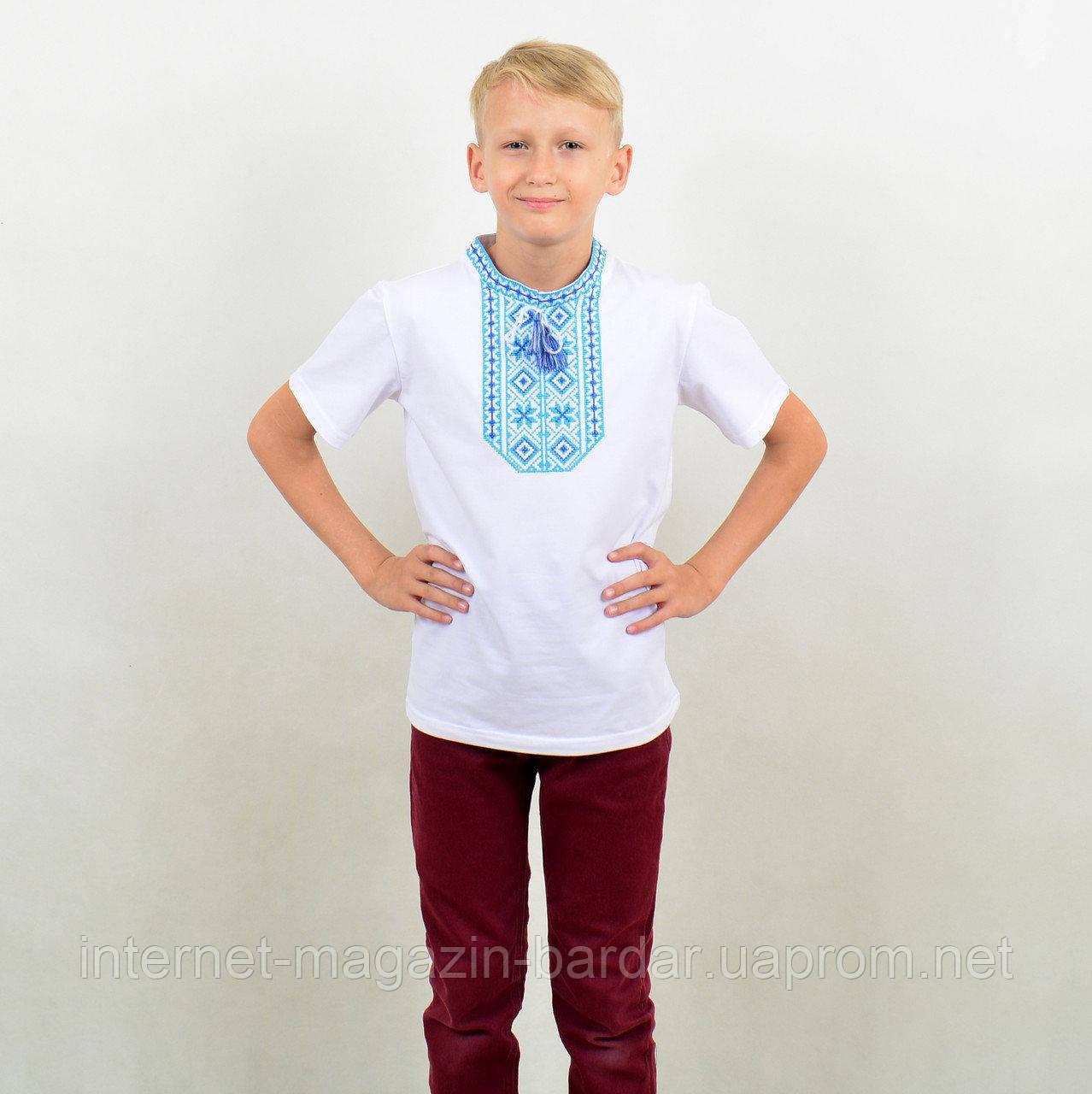 """Футболка вышиванка для мальчика """"Виталик"""""""