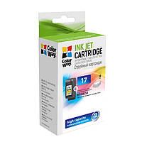 Картридж струйный ColorWay совместимый с HP №17C (CW-H17C)