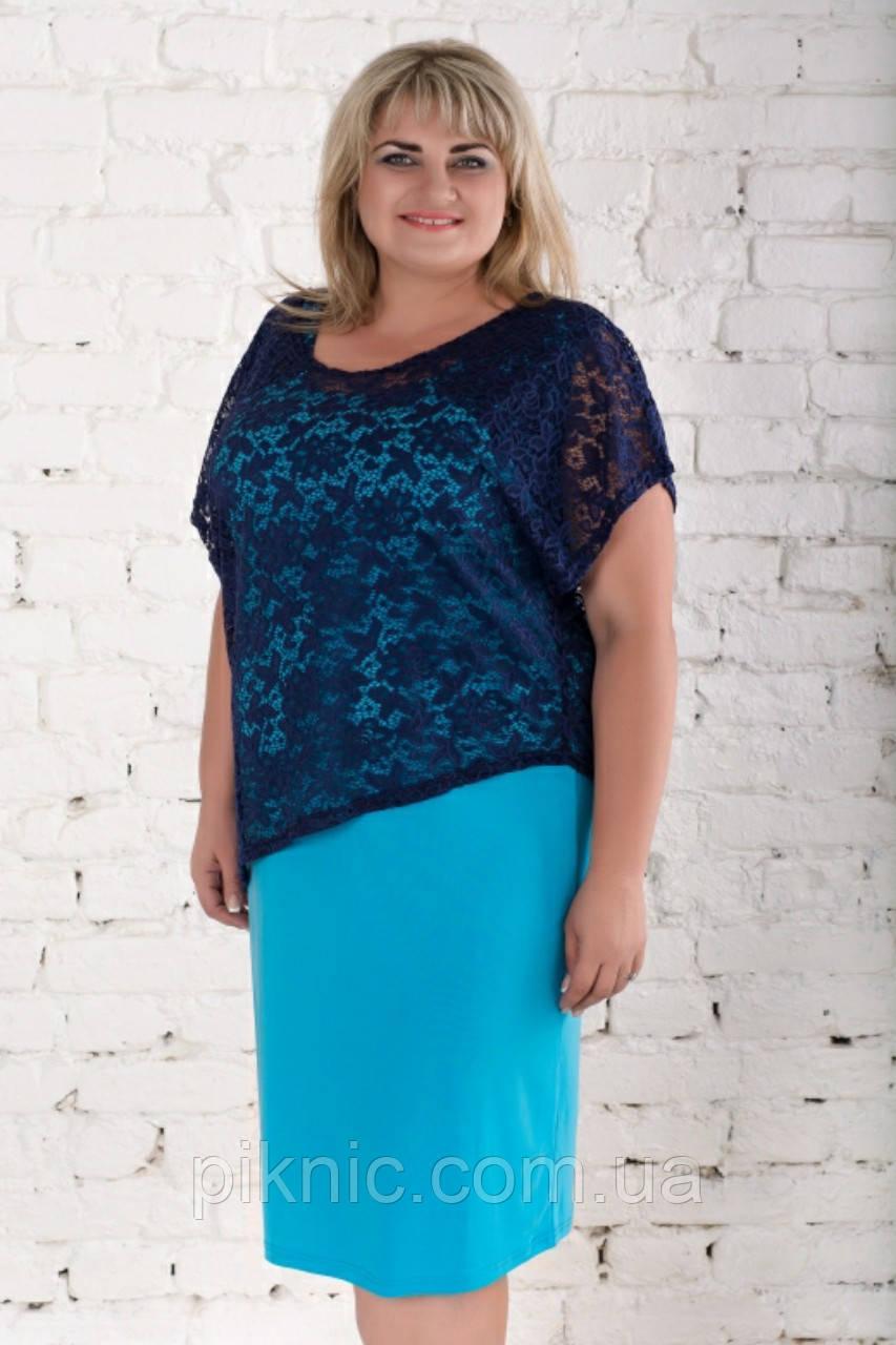 Платье Дейнерис батал 56-58, 58-60, 60-62. Красивое женское платье больших размеров