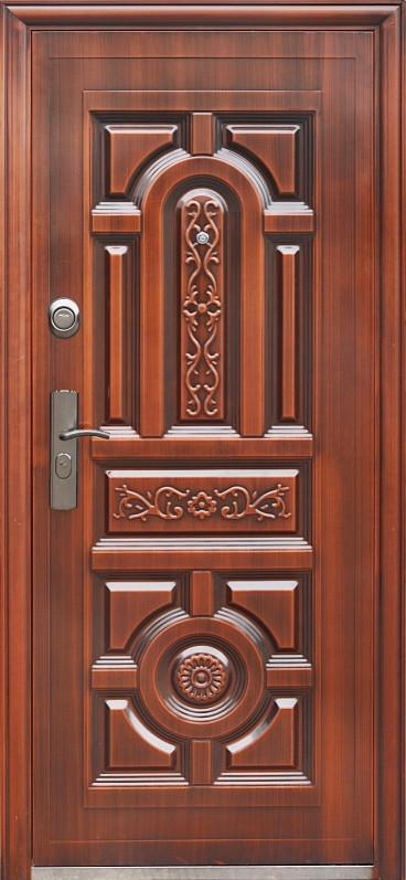 Утепленные  входные двери ААА 031 автолак медь