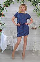 Женское летнее платье из натуральной ткани, фото 1