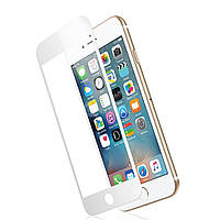 Защитное стекло TOTO 3D Full Cover Tempered Glass iPhone 6/6s White (TOTO6/6sW)